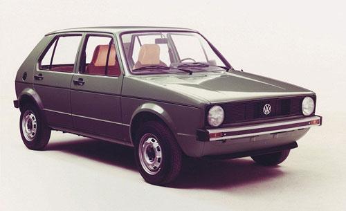 20 coches míticos de los 70 y 80 05-Volkswagen_golf