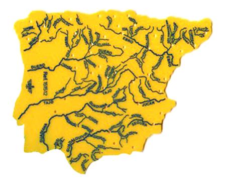 Plantilla mapa rios